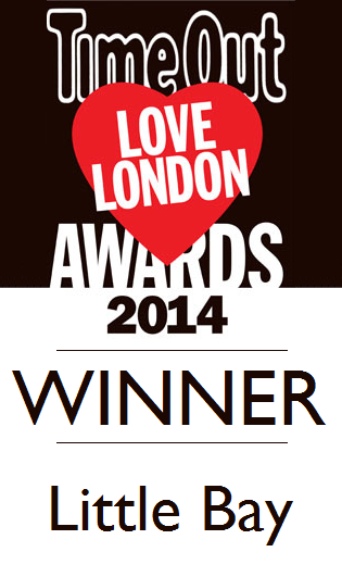 Time Out Love London Awards winner 2014